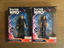 """Doctor Who Lot Of 2 5.5"""" Collector Figures: The Twelfth Doctor & Clara Oswald"""