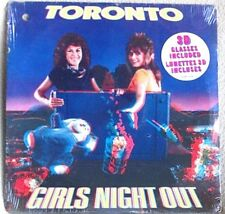 Toronto Girls Night Out 1983 Solid Gold Recs Canada GLAM ROCK 3D Glasses SS LP