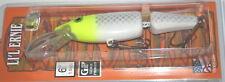 "6"" Jointed Little Ernie Musky Mania Pike Lure Lemon Head JLE-46 Drifter Tackle"