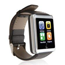 "1.54"" U10L Bluetooth WristWatch Smart Watch Phone Mate for Andriod iPhone Silver"