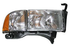 New Replacement Headlight Assembly RH / FOR 1999-01 DODGE RAM SPORT