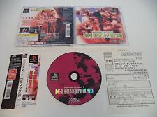 K-1 GRAND PRIX '99 psx import jp playstation COMPLETE