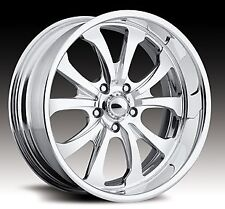 "Pro Wheels X5 17"" Polished Aluminum Billet Wheels Rims (set of 4)"