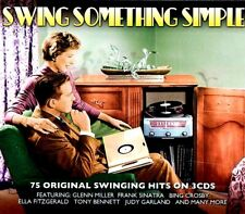SEALED NEW CD Various - Swing Something Simple: 75 Original Swingin Hits On 3 CD