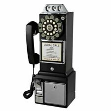 Classic 1950s American Style Diner Telephone Retro Home Phone Vintage Decoration