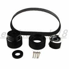 "1.5"" Notch Belt For 12A 13B 20B 15mm RX7 FD RX3 Gilmer Drive Pulley Kit Black AU"