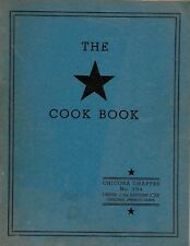 1950 The *Star Cook Book-Chicora Chapter No 354, Order of the Eastern Star-RARE!