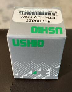 USHIO MR8 35W 12V Halogen Lamp. #1000627 FTH 12V-35W. NEW