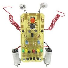 KitsUSA K-7012 Electric Slider Learn to Solder Robot Kit (soldering required)