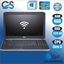 """FAST DELL LATITUDE E5530 i3-2348M 2.30GHz 4GB 320GB HDD 15.6"""" WINDOWS 10 PRO"""