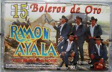 RAMON AYALA ´´15 BOLEROS DE ORO´´ CASSETTE BRAND NEW