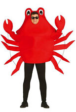 Adult King Crab Sea Life Animal Fancy Dress Costume Stag Night out Outfit 80798
