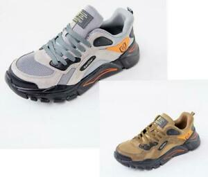 NEW MENS WOMEN LIGHTWEIGHT SAFETY STEEL TOE CAP WORK HIKING TRAINERS SHOES BOOTS