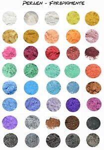 Perlen - Farbpigmente, 45 Farben zur Auswahl, Epoxidharz, Resin, Lack,  5-50g.