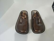 Alegria Womens Brown Mule Shoes Size 36/6 M
