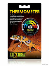 EXO Terra Dial Termometro Terrarium Temperatura Misuratore RETTILI LIZARD