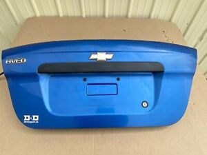 2004 - 2011 Chevrolet Chevy Aveo Trunk Deck Lid Hatch Tailgate Rear Door OEM