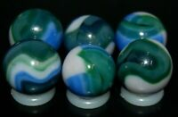 SIX PACK Jabo Classic  Marbles Collector Set Hard To Find Marbles KEEPERS L-918