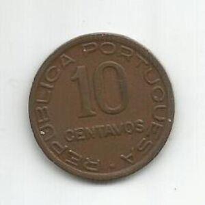 MOZAMBIQUE PORTUGAL 10 CENTAVOS 1936