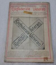 Rare ID'd A B Saxon CONFEDERATE VETERAN Magazine Nov. 1894 Death at Chickamauga