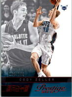 2014-15 Prestige Bonus Shots Red #156 Cody Zeller /199 - NM-MT