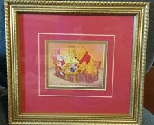 Walt Disney limited edition Winnie the pooh Christmas cookies stamp piglet 1996