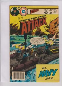 ATTACK #23 Fine+, all navy issue, Sam Glanzman cover & art, solid low cost copy