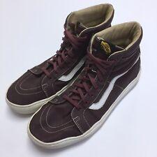b3376fafd9 Vans SK8-HI Triple Red Classic Skate Shoes US Men s 13