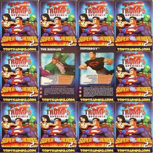 Top Trumps Single Card Super DC Heroes 2 (Villains) Characters - Various (FB3)