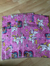 Lot of 10 Vintage Princess Gwenevere Power Jewel Riders Unicorn Gift Wrap 1995