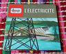 1967 J'apprends tout sur...L'élèctricité Dargaud Livre enfant Science