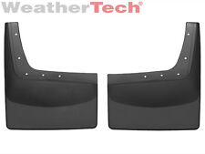WeatherTech No-Drill MudFlaps - Ford Super Duty Dually - 2001-2010 - Rear Pair
