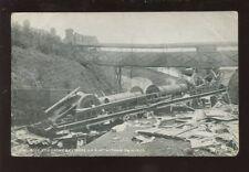 Norfolk WITHAM Rail Crash Wreckage PPC