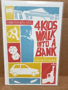 4 Kids Walk Into A Bank #1 (2016) Black Mask Midtown Variant NM