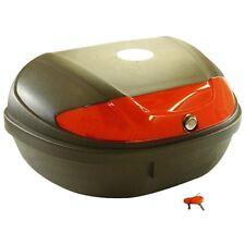 Platina motocicleta maleta Roller maletín 59x43x31cm 52l negro