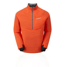 Montane Mens Via Fireball Verso Pull-On Jacket Top Orange Sports Outdoors Half