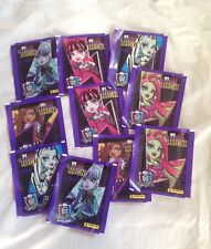 LOT DE 10 POCHETTES NEUVES WE ARE MONSTER HIGH EDITION PANINI
