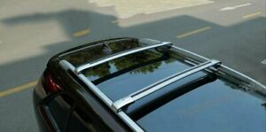 Fit Cadillac SRX 2010-201 Cargo Roof Rack Side Rails Bars Luggage Carriers 2Pcs
