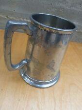 """Nice English pewter mug ca. 1910, marked """"Manor"""" ? [Y7-W6-A8]"""