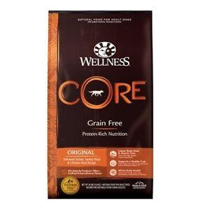 Wellness Core Grain Free Turkey & Chiken Dry Dog Food - 26 Pound Bag