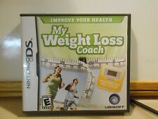 My Weight Loss Coach Nintendo DS NDS Ubisoft -No Pedometer included- CIB