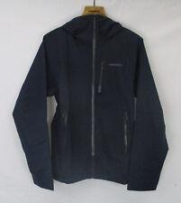 Patagonia Mens Stretch Rainshadow Jacket 84800 Navy Blue/Forge Grey Size Small