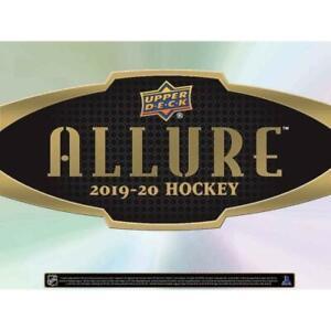 2019-20 Upper Deck Allure NHL Hockey INSERT Trading Cards Pick From List