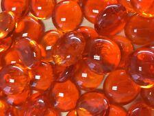 M ORANGE Glass Gems, Marbles, Nuggets, Pebbles