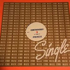 PRINCE CONTROVERSY UK PROMO 12 1981 RARE K 17866 T