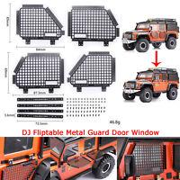 Fliptable Metal Guard Türfenster für TRAXXAS TRX4 Land Rover Defender D90 RC4WD