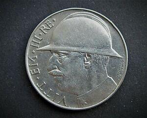 GENUINE ITALIAN SILVER 20 LIRE 1928R  /  SNIFF'S ANCIENT COINS