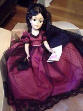 "set of 4 Madame Alexander 21"" dolls,Goya,Scarlet,Agatham,Melanie,new in the box!"