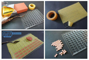 Freedom Man 1/35 diorama accessory set No-3502013, interlocking tile mold