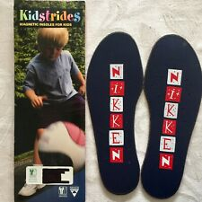 New Nikken Kidstrides Magnetic Insoles for Kids Fit Child Size 9 to Youth Size 2